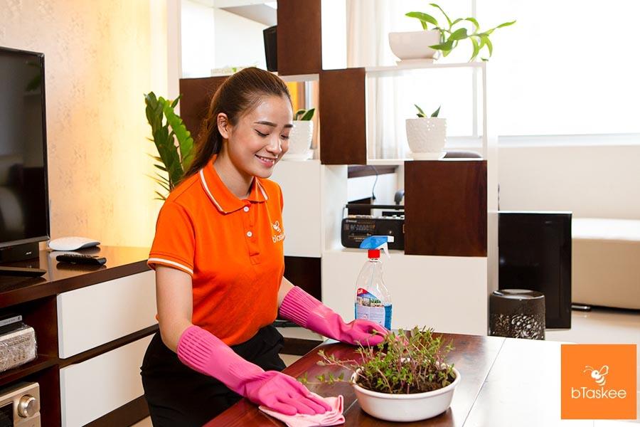 Dọn dẹp, vệ sinh nhà cửa sạch sẽ phòng chống trẻ em bị nhiễm bệnh tiêu chảy