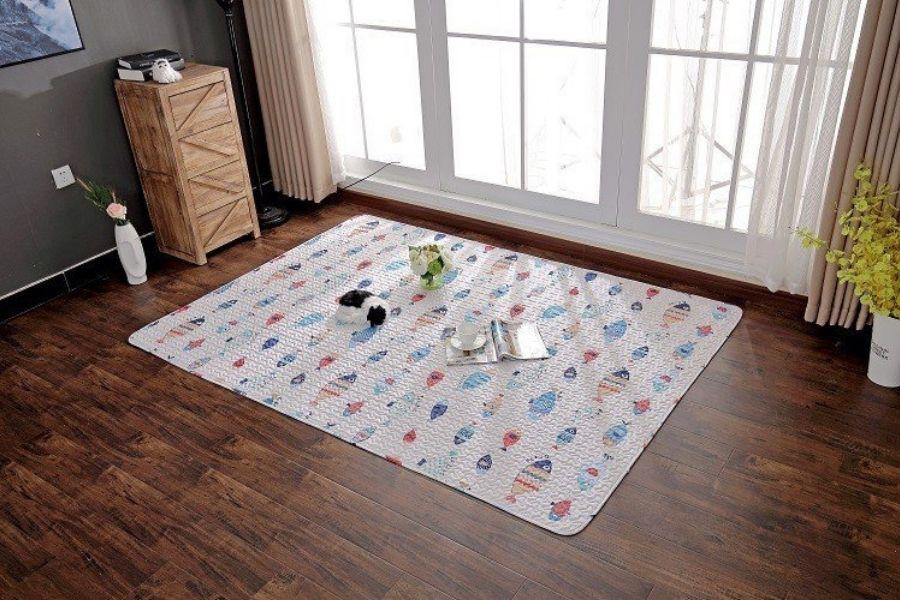 cách giặt thảm cotton hiệu quả