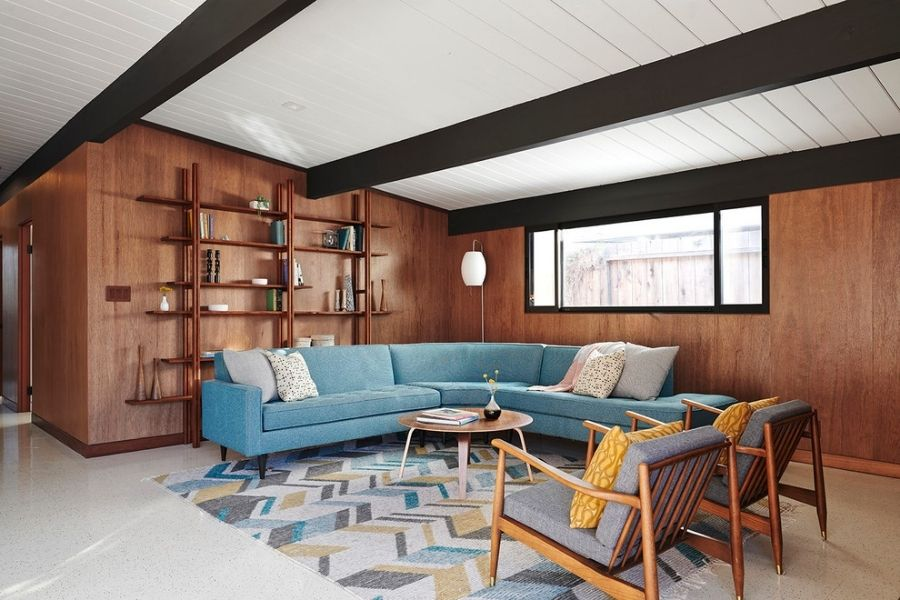 Sự tương quan diện tích phòng và chiều cao ghế sofa