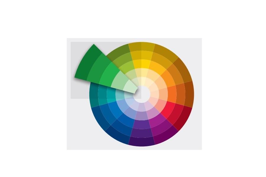 Cách chọn và phối rèm cửa theo nguyên tắc màu đơn sắc