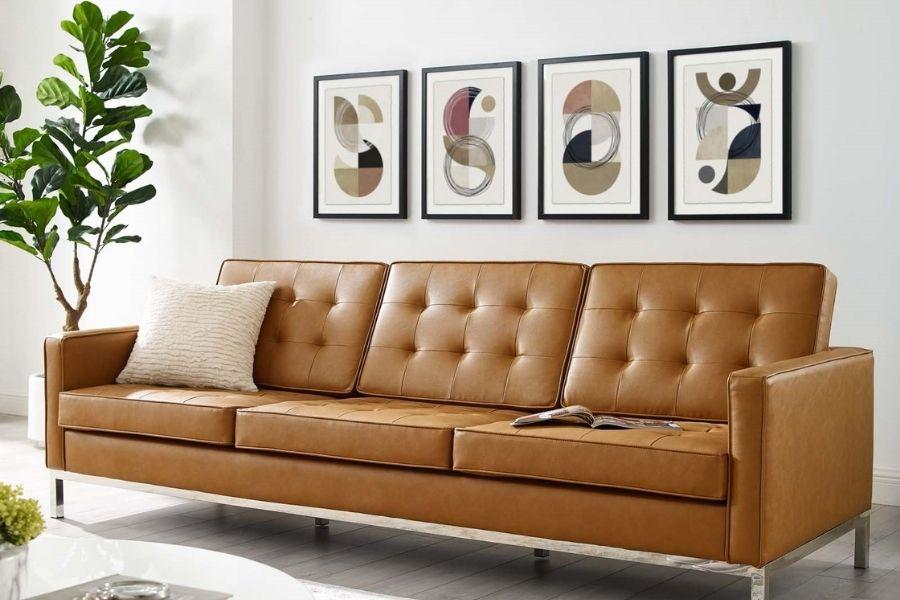 Ghế sofa giả da