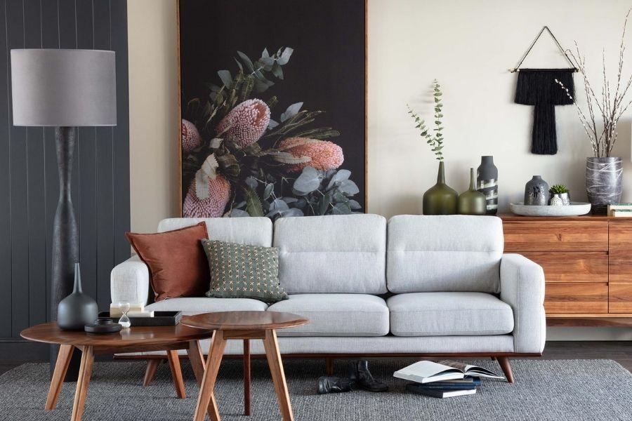 Ưu tiên màu sắc trung tính khi chọn sofa cho phòng khách