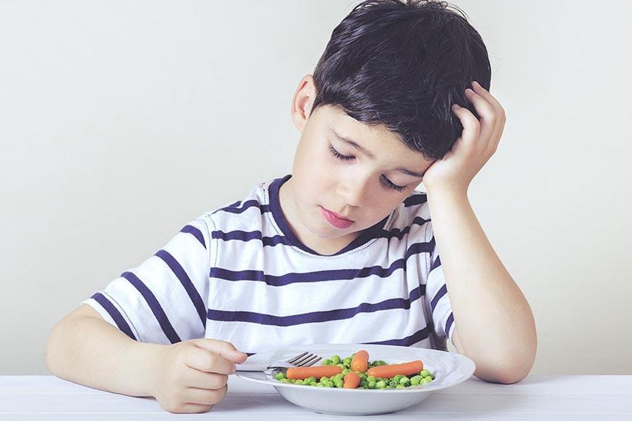 Trẻ chán ăn nên thiếu chất dinh dưỡng