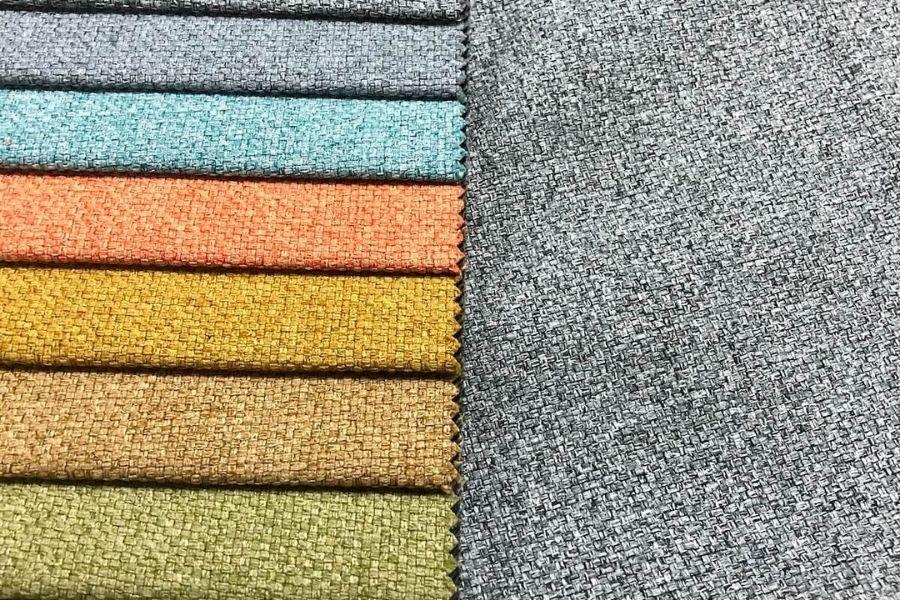 Chất liệu bọc ghế sofa bằng vải
