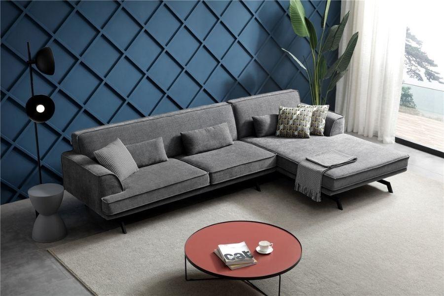 Vải bọc sofa sợi gai