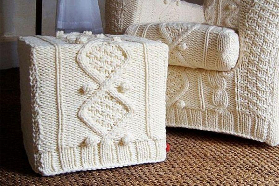 Vải bọc sofa sợi len