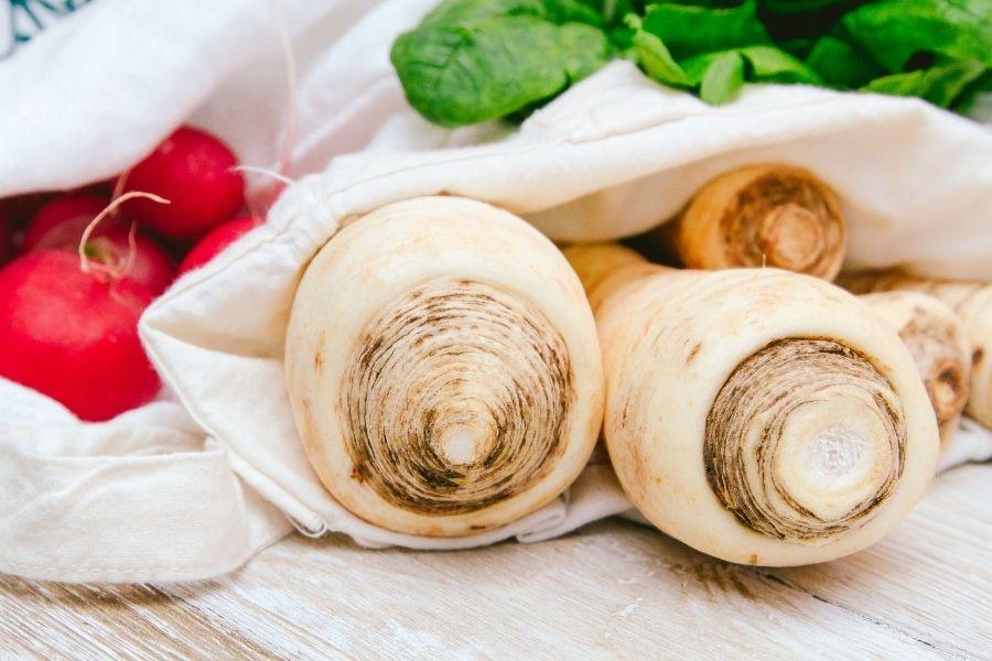 Cách bảo quản củ cải trắng nơi khô thoáng