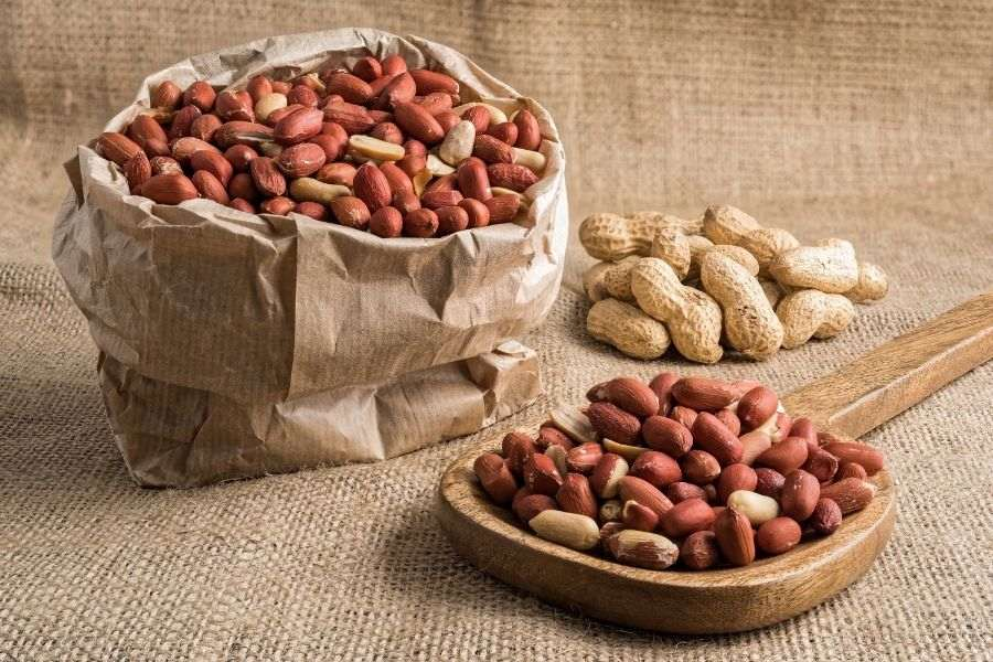 Bảo quản đậu phộng đã luộc vỏ