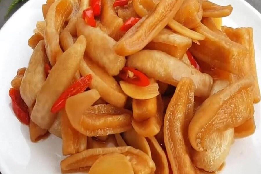 Món củ cải ngâm nước tương thơm ngon