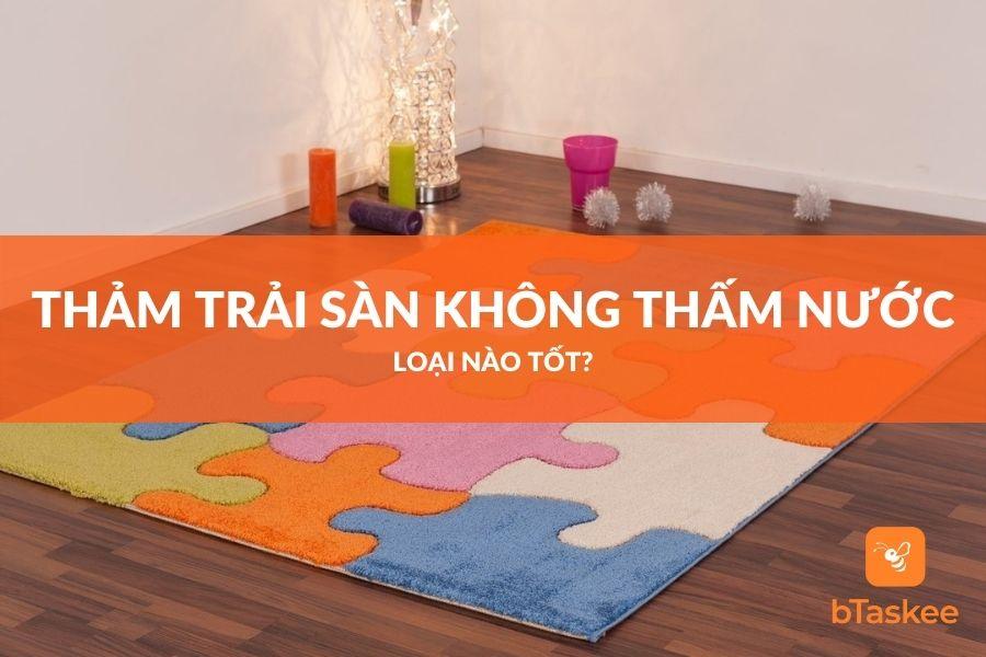thảm trải sàn không thấm nước