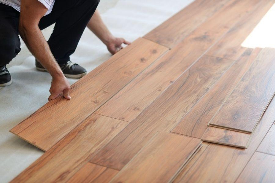 thảm trải sàn giả gỗ